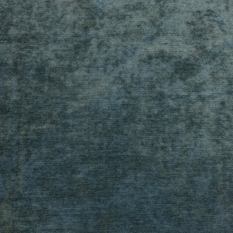 Grey Blue Velvet Crypton Upholstery Fabric
