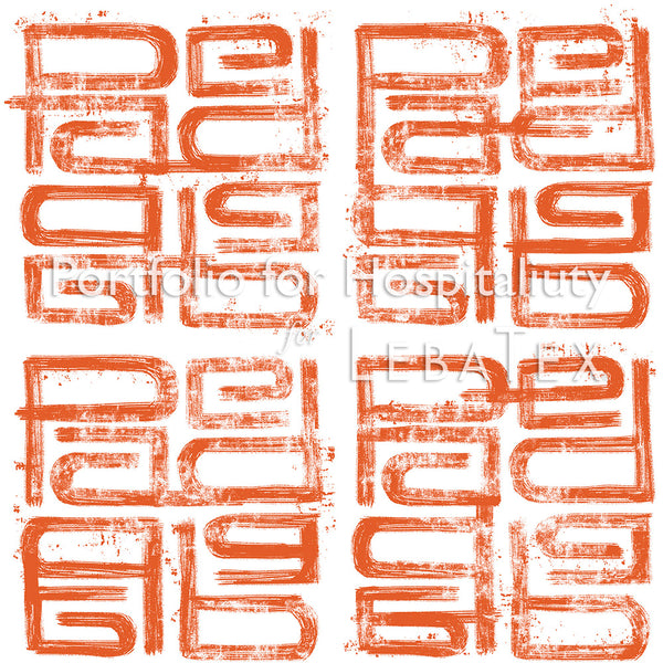 Litho-Orange M.O.D. Pattern