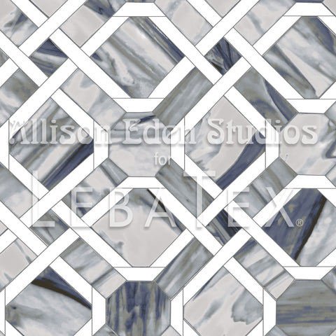 Marble Trellis Customizable M.O.D. Fabric