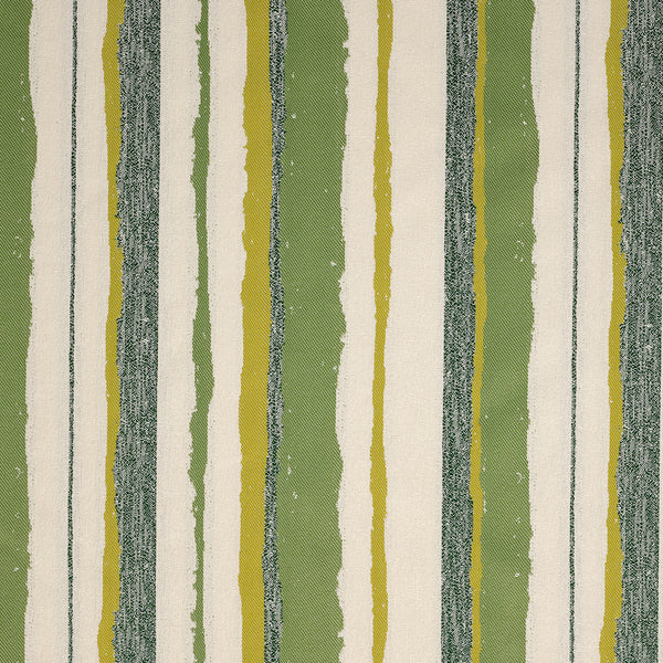 Montauk Stripe-Lime Indoor/Outdoor Upholstery Fabric