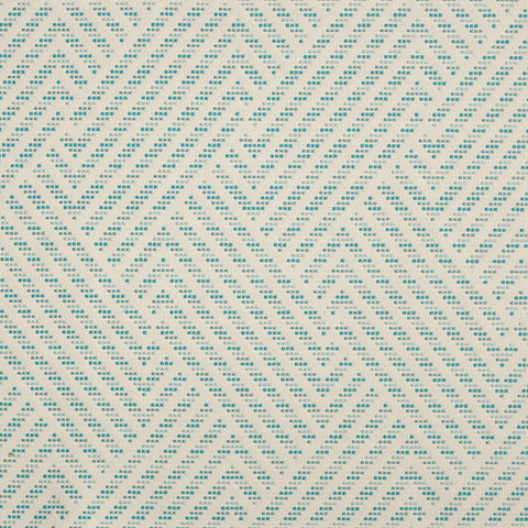 Navajo-Turquoise Indoor/Outdoor Upholstery Fabric