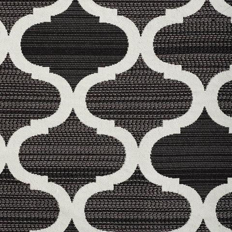 Parasail-Charcoal Indoor/Outdoor Upholstery Fabric