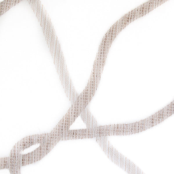 Pinnacle-Grain Beige Sheer Drapery Fabric