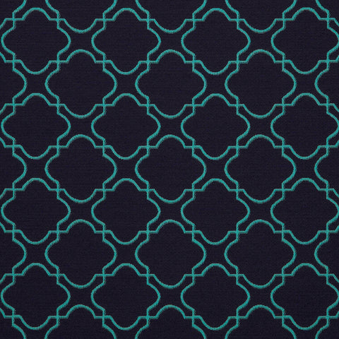 Portico-Azul Upholstery Fabric