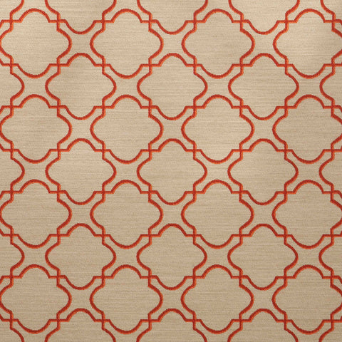 Portico-Persimmon Upholstery Fabric