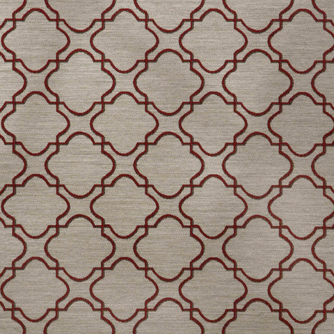 Portico-Sangria Upholstery Fabric