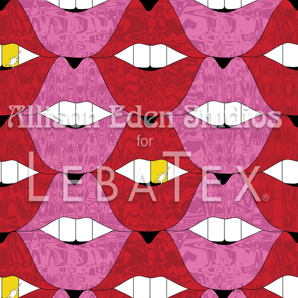Pucker Up - Allison Eden Customizable Fabric