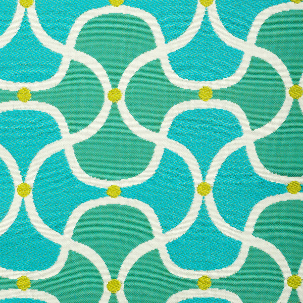Seaside-Turquoise Indoor/Outdoor Upholstery Fabric
