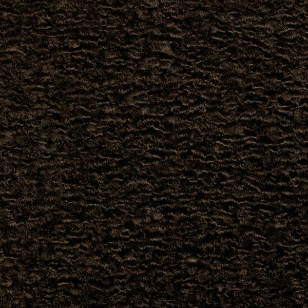 Shearling-Chocolate Upholstery Fabric