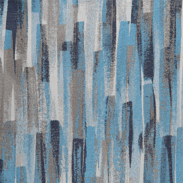 LebaTex Skyline-Blue Drapery Fabric