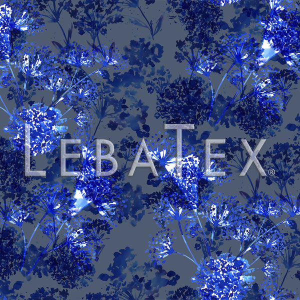 LebaTex Floral Reflection Customizable M.O.D. Fabric