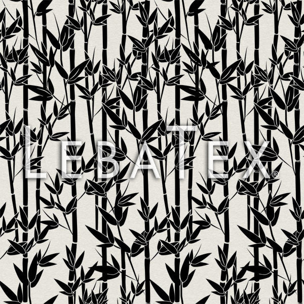 LebaTex Jungle Bamboo-Midnight Customizable M.O.D. Fabric