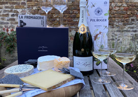 Competition: Win 6 Jancis Glasses, a Magnum of Pol Roger and a La Fromagerie Hamper