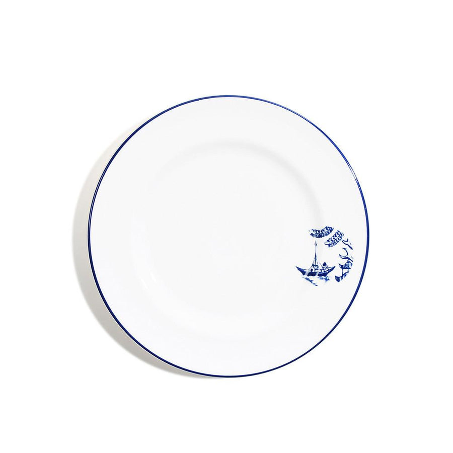 18cm Rimmed Bread Plate