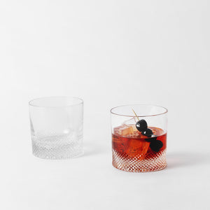 Set of 2 Double Old Fashioned – Diamond