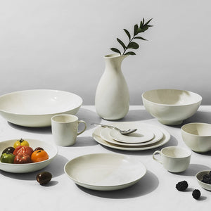 Richard Brendon Creamware Dip White Collection