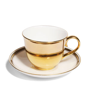 Gold Teacup & Paragon China Saucer, c.1925