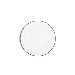 18cm Rimmed Bread Plate - Line
