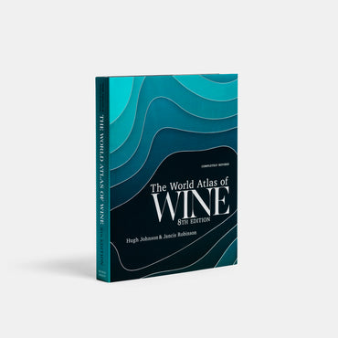 The World Atlas of Wine, 8th Edition by Jancis Robinson and Hugh Johnson