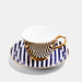 Gold Teacup and Saucer - Superstripe
