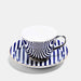 Platinum Teacup & Saucer - Superstripe