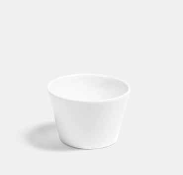 Deco Sugar Bowl - White