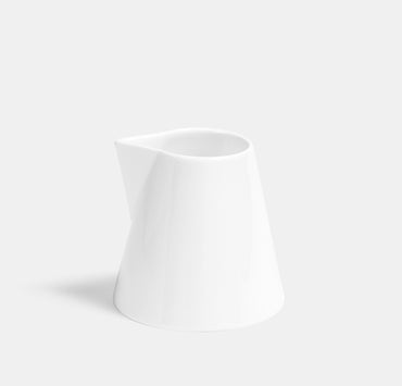 Deco Milk Jug - White