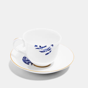 Teacup & Saucer - Details from Willow