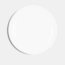 Coupe Dinner Plate (28cm) - White
