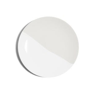 Richard Brendon Creamware Dip Collection White Plate