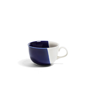 Richard Brendon Creamware Dip Collection Cobalt Cappucino Cup