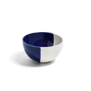 Richard Brendon Creamware Dip Collection Cobalt Cereal Bowl