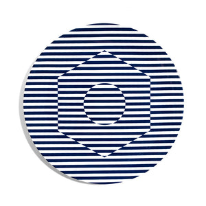 28cm Coupe Dinner Plate - Superstripe