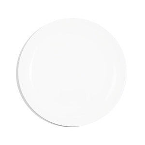 24cm Coupe Salad Plate - White
