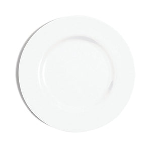 Richard Brendon Fine Bone China White Rimmed Salad Plate