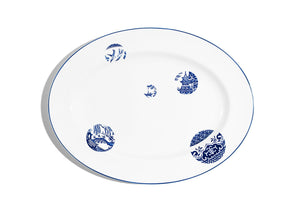 40cm Oval Serving Plate