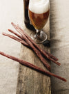 Cider chorizo beer sticks by ispini charcuterie