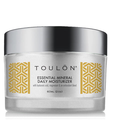 Essential Mineral Daily Moisturizer with Hyaluronic Acid, Magnesium and an Antioxidants blend