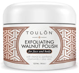 Exfoliating Walnut Polish with Vitamin E, Panthenol, Chamomile and Aloe Vera