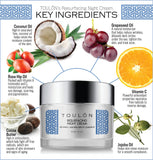Resurfacing Night Cream with Vitamin C, Cocoa Butter, Jojoba Oil and Grapeseed Oil