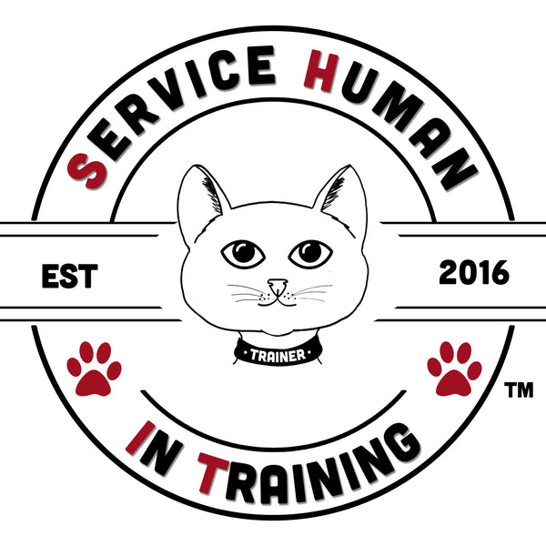 Cat - Service Human in Training (SHiT) T-Shirts