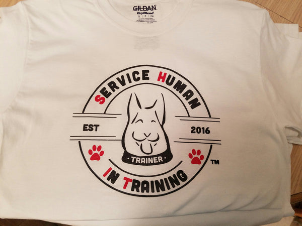 Big Dog - Service Human in Training (SHiT) T-Shirts
