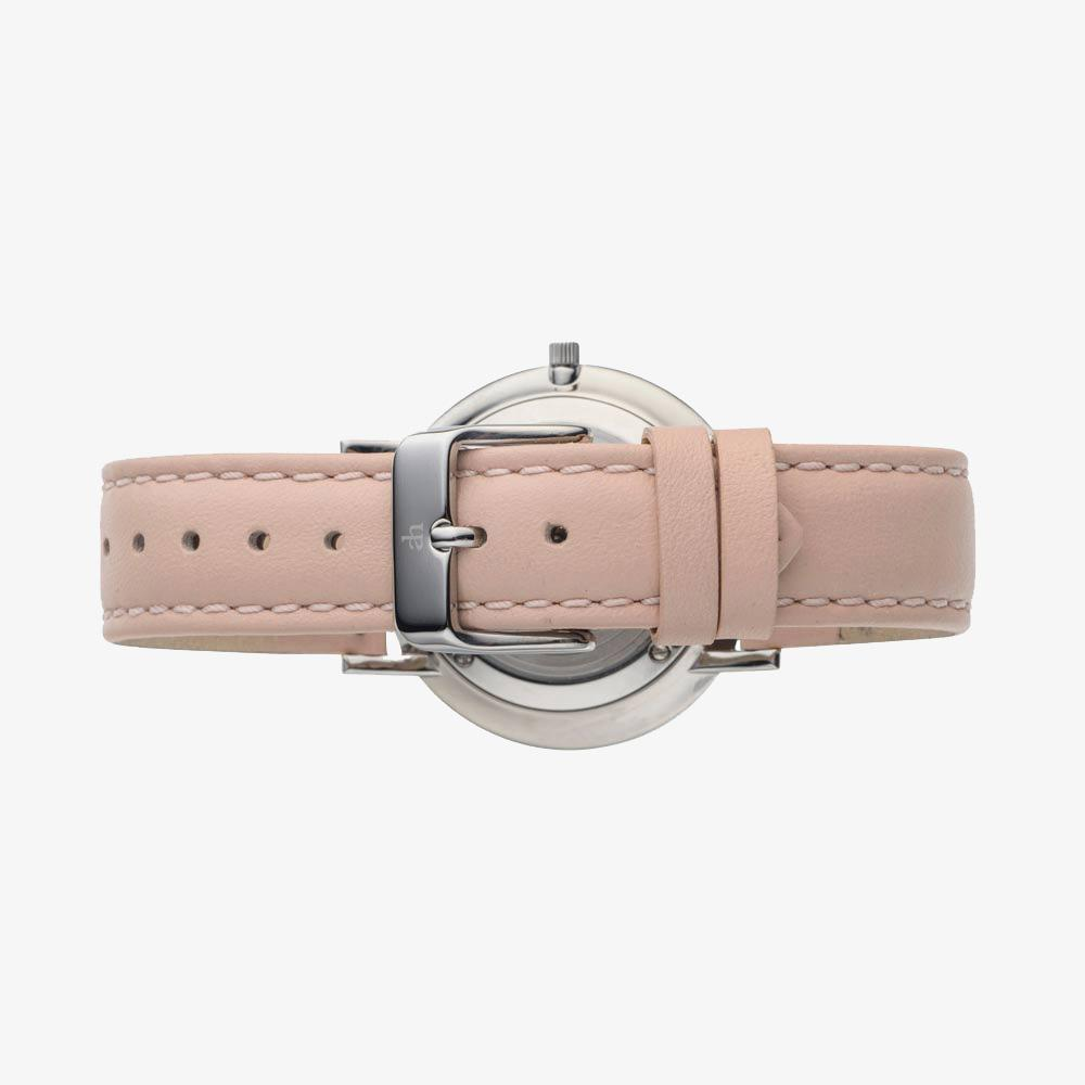 Audrey - Pink Leather