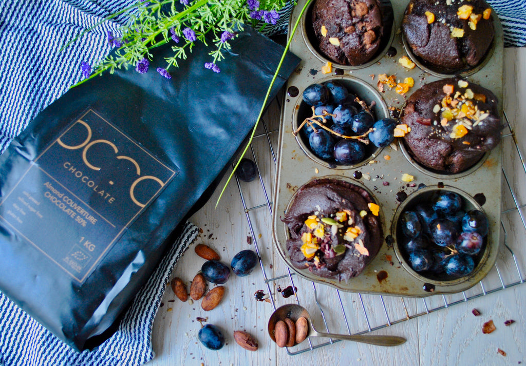 Baking with OCTO Couverture chocolate!