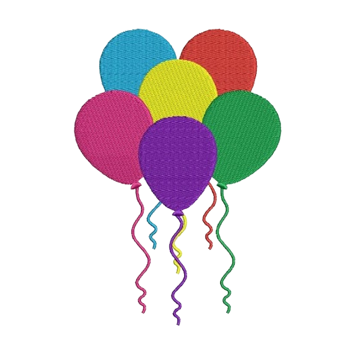 These colourful balloons will brighten up your nursery uniforms & childcare uniforms.