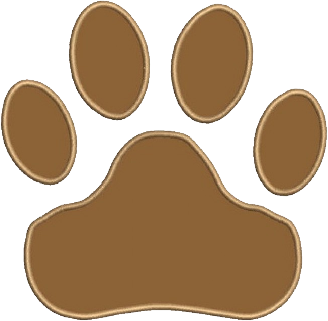 Wouldn't this cute dog paw look excellent embroidered onto your vet scrubs & veterinary uniforms?