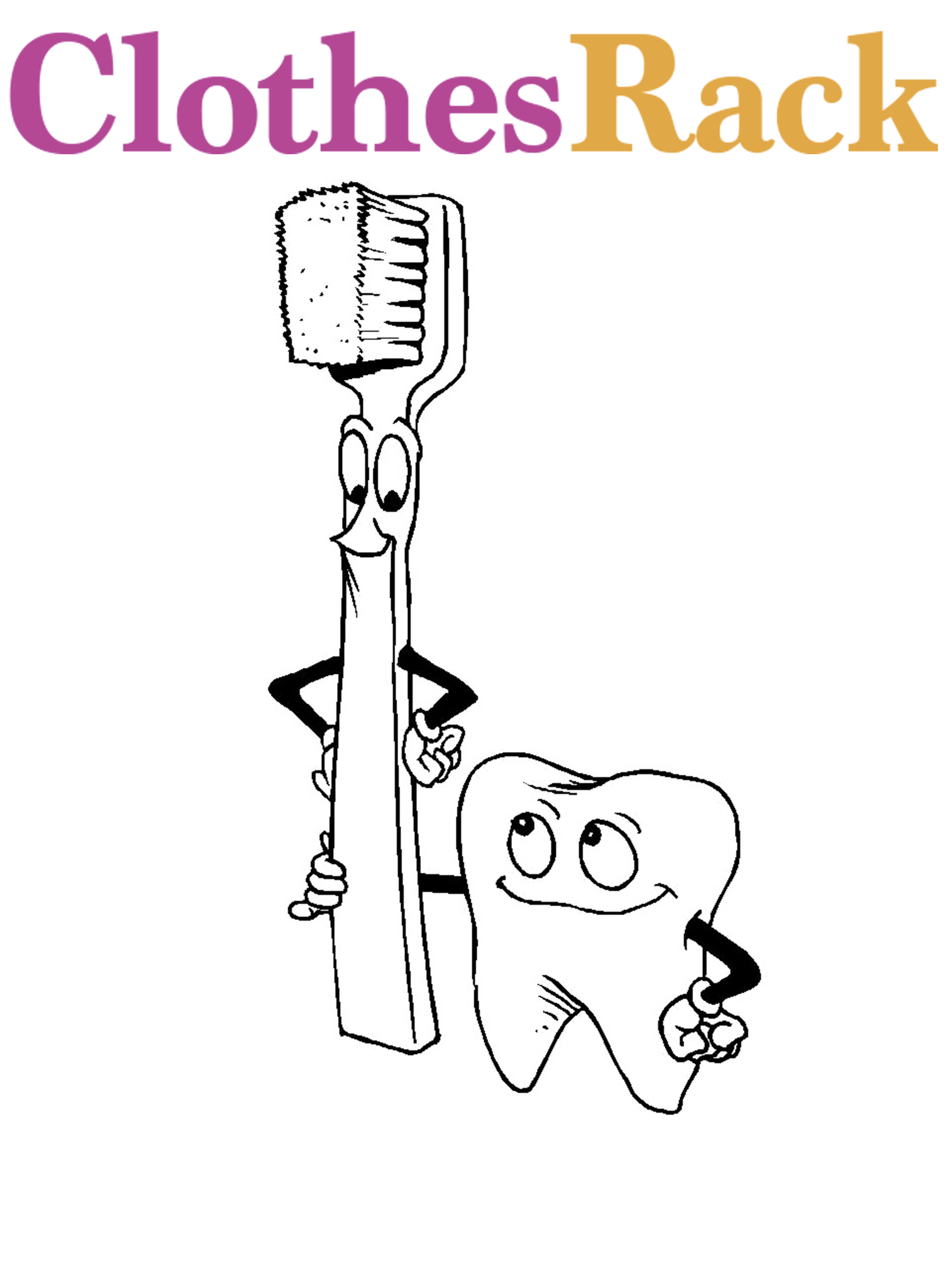 Dentist Pictures For Kids | Dental Colouring Pages For Kids | Dental Health Colouring Pages