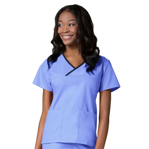Traditional ceil blue uniforms for healthcare staff, nurses uniforms online and doctors uniforms.