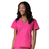 Vibrant pink childcare uniforms and nursery uniforms for staff are favourites. Get pink uniforms for childcare staff here.