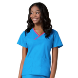 Malibu blue healthcare assistant uniform, care assistant uniforms or dog grooimg uniforms.